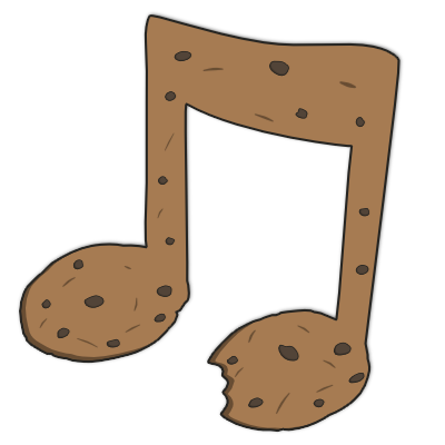 Cookie Musical Note