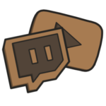 Twitch YouTube Icon Cookie Themed