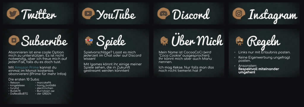 CocoaCoCi Twitch Banner V1