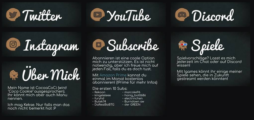 CocoaCoCi Twitch Banner V2